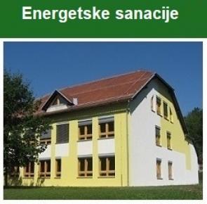 ENERGETSKE SANACIJE.