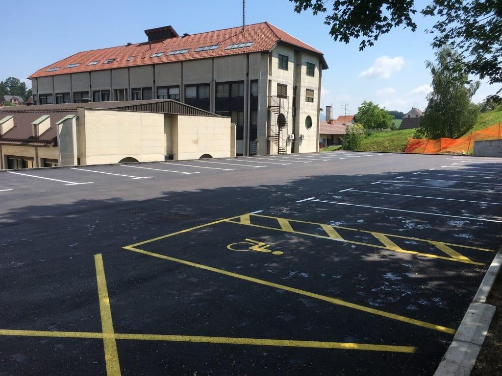 Naziv: Izvedba parkirišča za UE Šmarje pri Jelšah